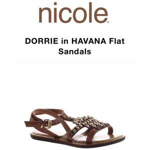 Nicole Havana Sandals